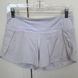 Lululemon Speed Up Short Long *4""